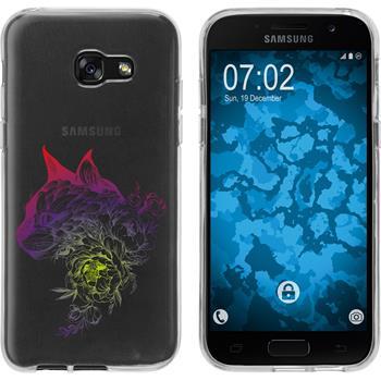 Samsung Galaxy A5 2017 Silikon-Hülle Floral  M2-5