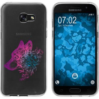 Samsung Galaxy A3 2017 Silikon-Hülle Floral  M3-6