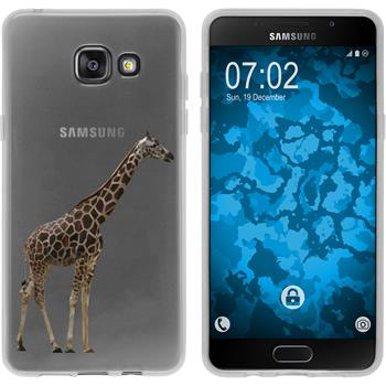 Samsung Galaxy A5 (2016) A510 Silicone Case vector animals M8
