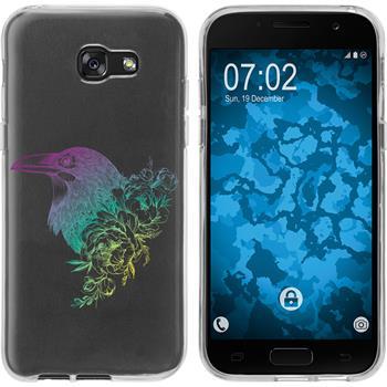 Samsung Galaxy A7 (2017) Silicone Case floral M4-4