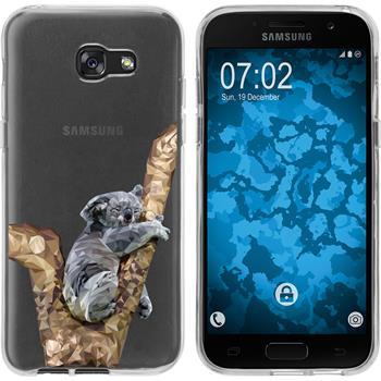 Samsung Galaxy A7 (2017) Silicone Case vector animals M9