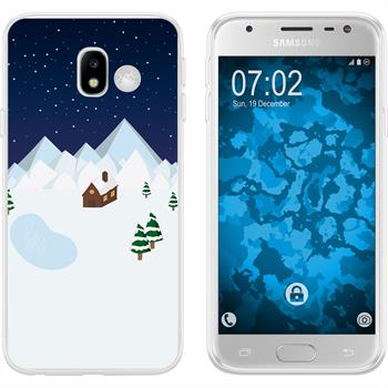 Samsung Galaxy J3 2017 Silicone Case Christmas X Mas M6