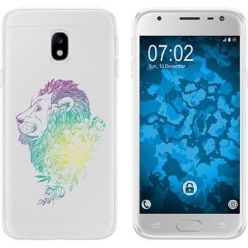 Samsung Galaxy J3 2017 Silicone Case floral M6-4