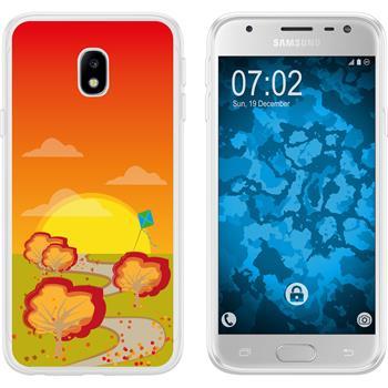 Samsung Galaxy J3 2017 Silicone Case autumn M2