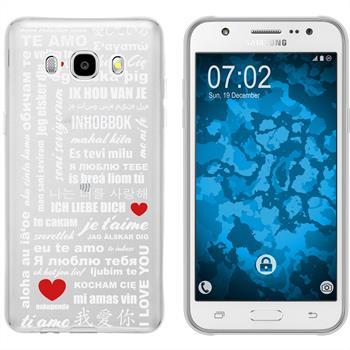 Samsung Galaxy J5 (2016) J510 Silicone Case in Love M5