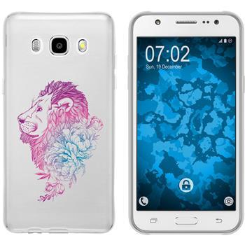 Samsung Galaxy J5 (2016) J510 Silicone Case floral M6-6
