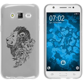 Samsung Galaxy J5 (2015 - J500) Silicone Case floral M6-1