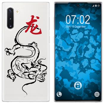 Samsung Galaxy Note 10 Silicone Case Chinese Zodiac M5