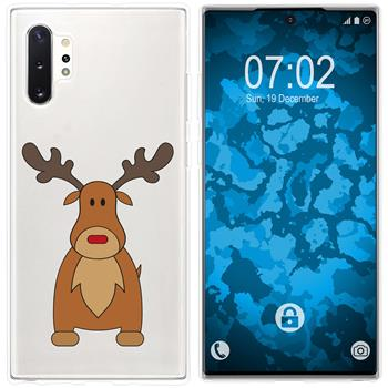 Samsung Galaxy Note 10+ Silicone Case Christmas X Mas M3