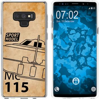 Samsung Galaxy Note 9 Silicone Case  M1