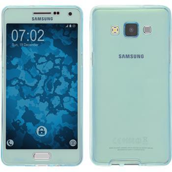 Silikon Hülle Galaxy A5 (A500) 360° Fullbody hellblau