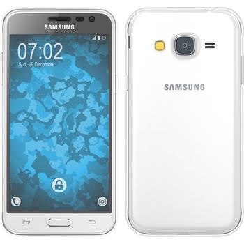 Silikon Hülle Galaxy J3 360° Fullbody clear