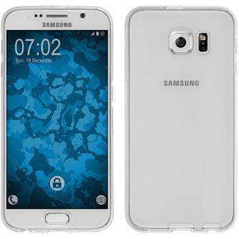 Silikon Hülle Galaxy S6 360° Fullbody clear Case