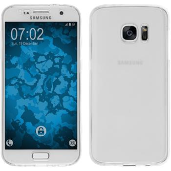 Silikon Hülle Galaxy S7 360° Fullbody clear Case