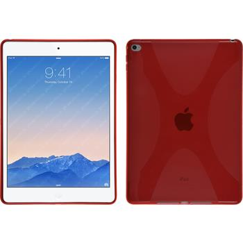 Silicone Case for Apple iPad Air 2 X-Style red
