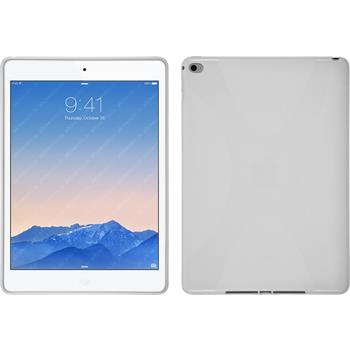 Silicone Case for Apple iPad Air 2 X-Style white