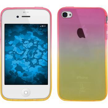 Silicone Case for Apple iPhone 4S Ombrè Design:01
