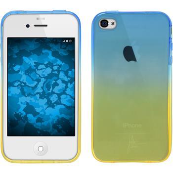 Silicone Case for Apple iPhone 4S Ombrè Design:02