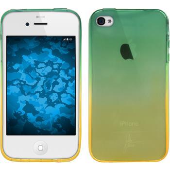 Silicone Case for Apple iPhone 4S Ombrè Design:03