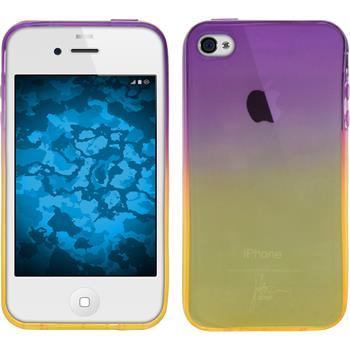 Silicone Case for Apple iPhone 4S Ombrè Design:05