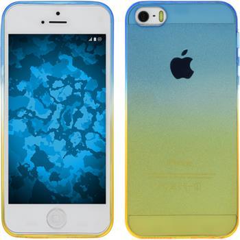 Silicone Case for Apple iPhone 5 / 5s Ombrè Design:02