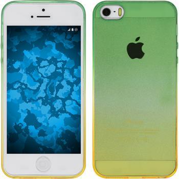 Silicone Case for Apple iPhone 5 / 5s Ombrè Design:03