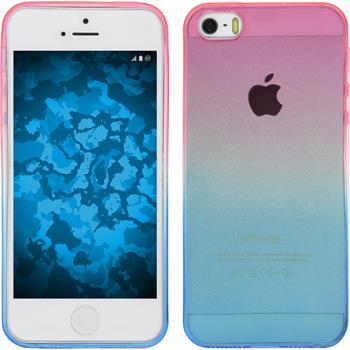 Silicone Case for Apple iPhone 5 / 5s Ombrè Design:06