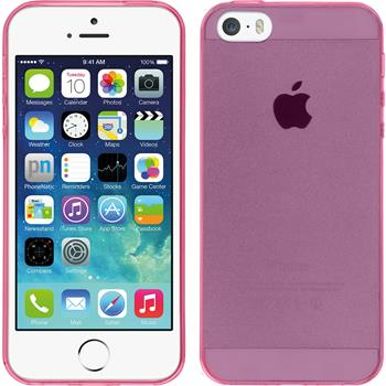 Silicone Case for Apple iPhone 5 / 5s Slimcase hot pink