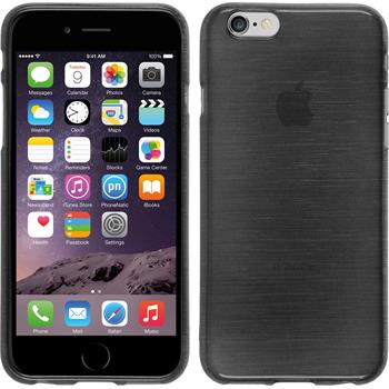 Silicone Case for Apple iPhone 6 brushed silver