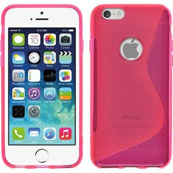 Silicone Case for Apple iPhone 6 S-Style hot pink
