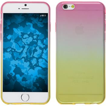 Silicone Case for Apple iPhone 6s / 6 Ombrè Design:01