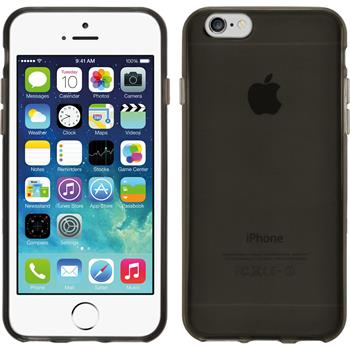 Silicone Case for Apple iPhone 6 transparent black