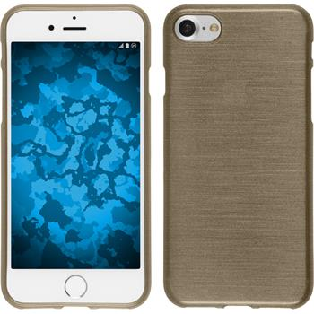 Silicone Case for Apple iPhone 7 brushed gold