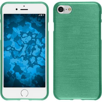 Silicone Case for Apple iPhone 7 brushed green