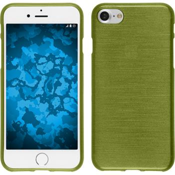 Silicone Case for Apple iPhone 7 brushed pastel green
