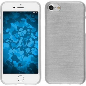 Silicone Case for Apple iPhone 7 brushed white