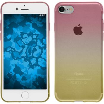 Silicone Case for Apple iPhone 7 Ombrè Design:01