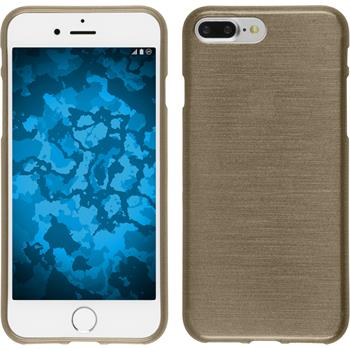 Silicone Case for Apple iPhone 7 Plus brushed gold