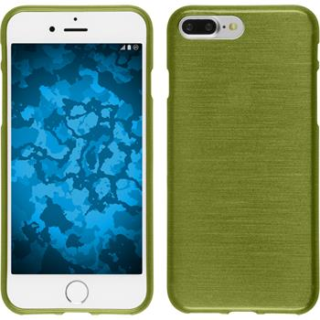 Silicone Case for Apple iPhone 7 Plus brushed pastel green