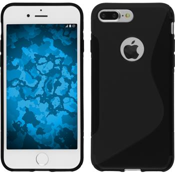 Silicone Case for Apple iPhone 7 Plus S-Style black