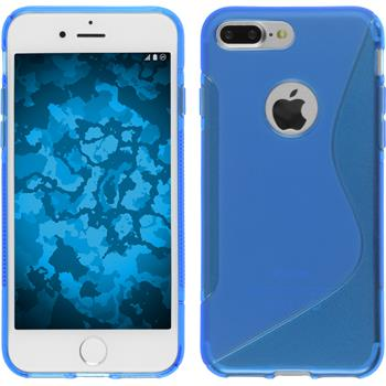 Silicone Case for Apple iPhone 7 Plus S-Style blue