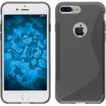 Silicone Case for Apple iPhone 7 Plus S-Style gray