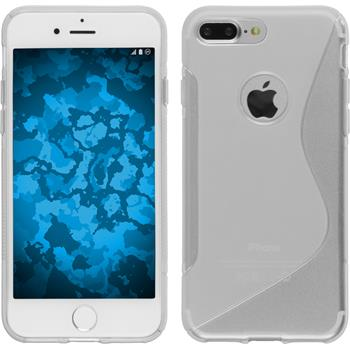 Silicone Case for Apple iPhone 7 Plus S-Style transparent