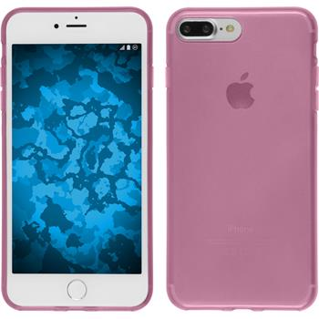 Silicone Case for Apple iPhone 7 Plus transparent pink