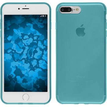 Silicone Case for Apple iPhone 7 Plus transparent turquoise