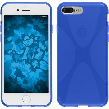 Silicone Case for Apple iPhone 7 Plus X-Style blue