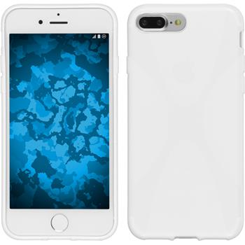 Silicone Case for Apple iPhone 7 Plus X-Style white