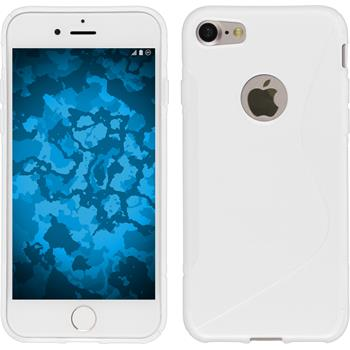 Silicone Case for Apple iPhone 7 S-Style white