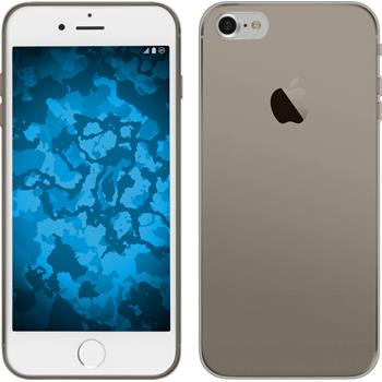 Silicone Case for Apple iPhone 7 Slimcase gray