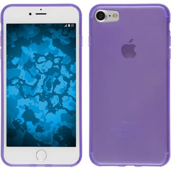Silicone Case for Apple iPhone 7 transparent purple